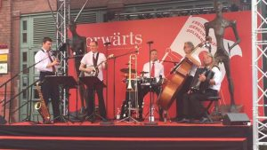 jazzband in berlin on the summerfestival