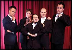 A Capella Gesang mit 5 dynamischen und phantastischen Stimmen