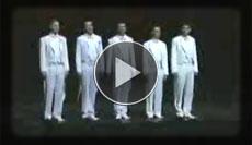 A Capella Quintett singt Mister Sandman