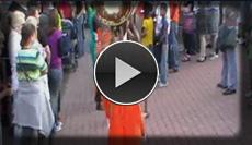 multikulturelle afrikanische Bands und Trommler bringen Stimmung in den Opel Zoo