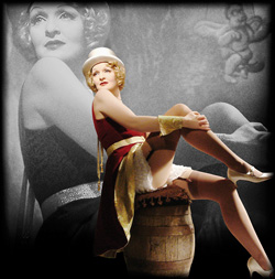 Sängerin interpretiert die größten Hits von Marlene Dietrich