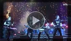 junge Berliner Percussion Band mit einer tollen Bühnenshow