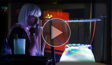 Bubble Show, Seifenblasenshow präsentiert von einer Dame