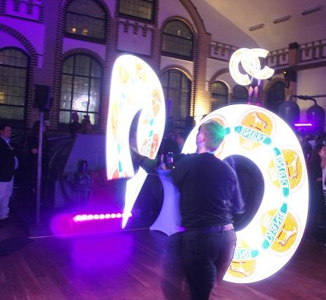 LED Show Wasserwerk 09.02.2017