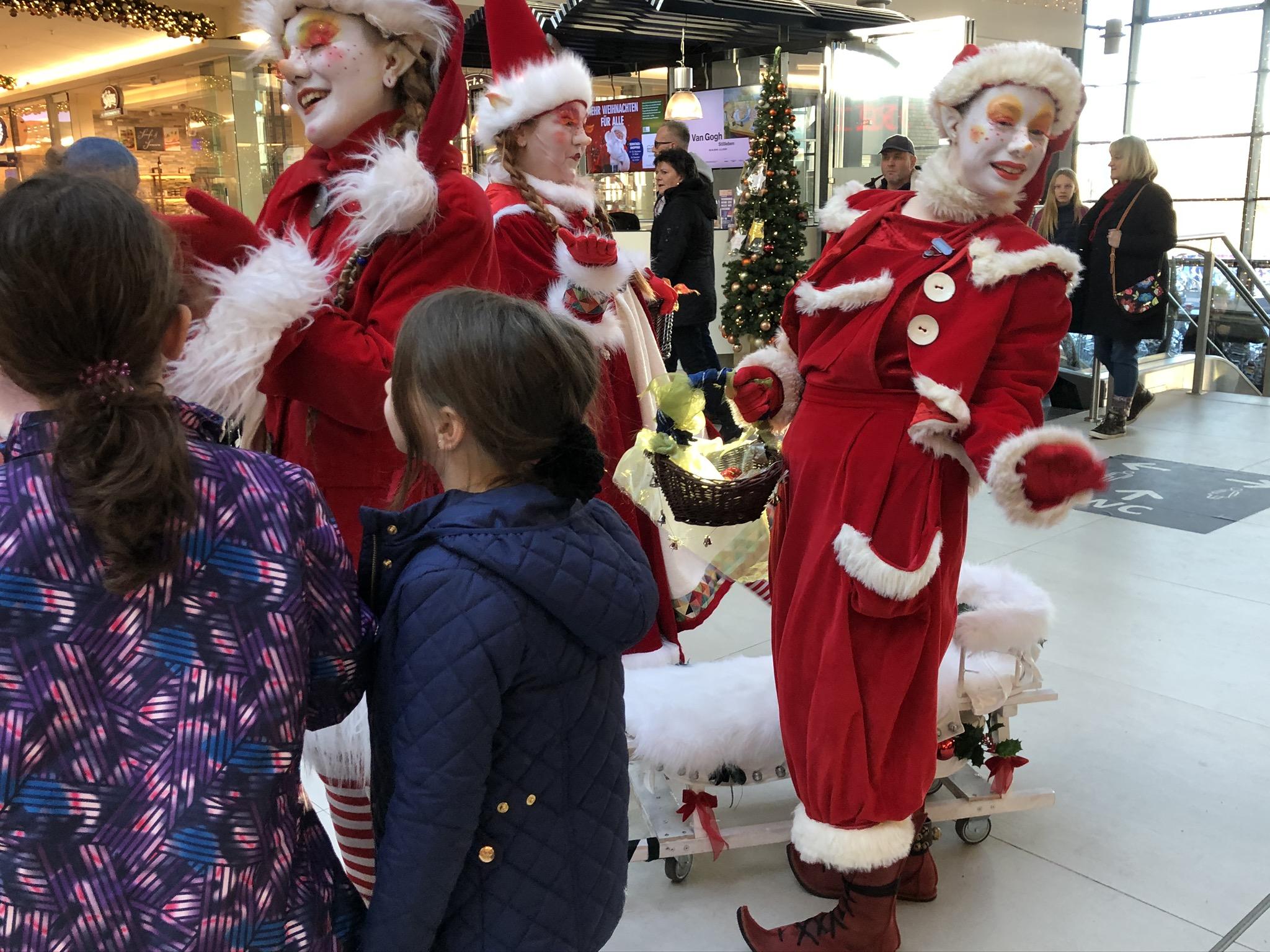 Weihnachtswichtel in Potsdam