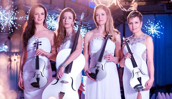 E-Violine und E-Harfe