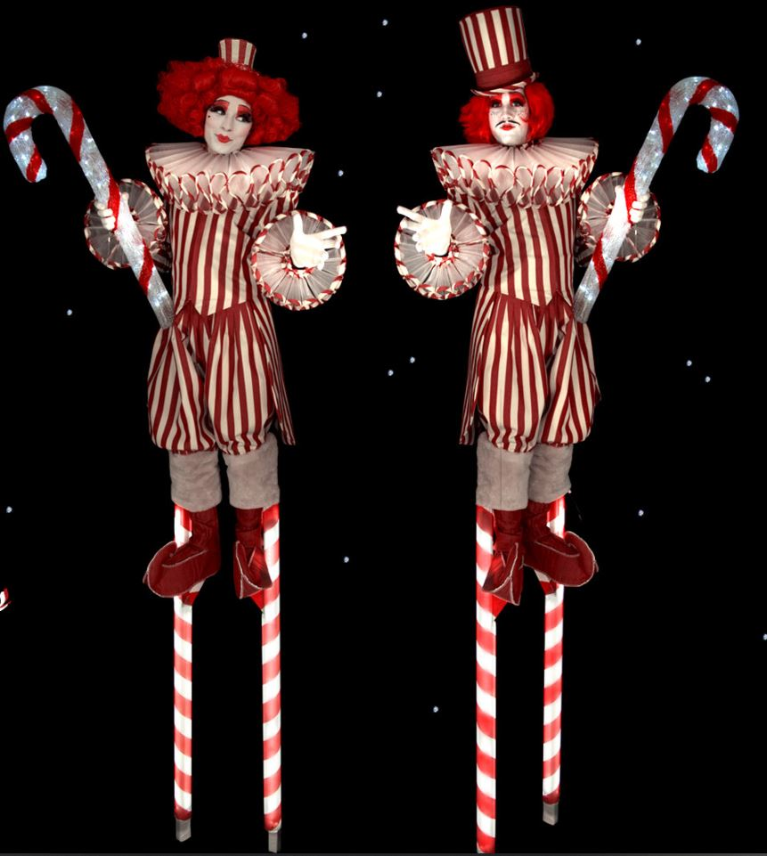 Candy-Canes-on-stilts